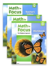 Math in Focus: The Singapore  Approach Grade 3 First Semester Homeschool Package