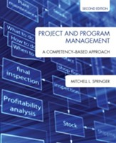 Project and Program Management: A Competency-Based Approach - eBook
