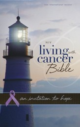 NIV Living With Cancer: An Invitation to Hope, Italian Duo-Tone, Navy/Chocolate