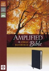 Amplified Cross-Reference Bible, Black