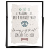 A Wagging Tail Framed Art