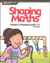Shaping Maths Teacher's Planning  Guide 4A (3rd Edition)