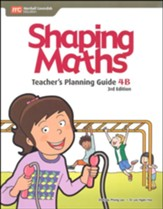 Shaping Maths Teacher's Planning Guide 4B (3rd Edition)