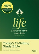NLT Life Application Study Bible,  Third Edition--hardcover
