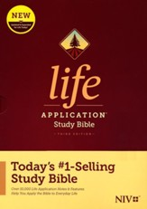 NIV Life Application Study Bible, Third Edition--hardcover