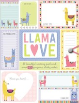 Llama Love Stationery Folder