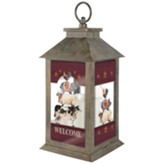 Farm Fresh Welcome Lantern