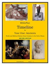 BiblioPlan Timeline for Year One:  Ancient History (2nd  Edition)