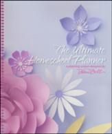The Ultimate Homeschool Planner (Pink Flowers Cover)
