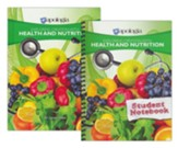 Exploring Creation with Health and  Nutrition Course  (Textbook & Student Notebook)