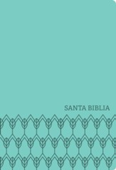 NTV Santa Biblia, Edicion compacta, NTV Holy Bible, Compact Edition--soft leather-look, mint green