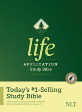 NLT Life Application Study Bible, Third Edition--hardcover, indexed
