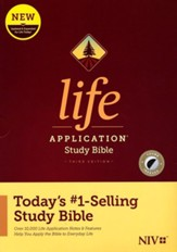 NIV Life Application Study Bible,  Third Edition-hardcover (indexed)