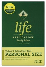 NLT Life Application Personal-Size  Study Bible, Third Edition--softcover