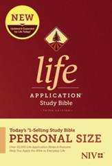 NIV Life Application Personal-Size Study Bible, Third Edition--softcover