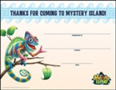 Mystery Island: Visitor Certificates (pkg. of 10)