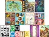 Mystery Island: Junior and Primary Illustration Posters (pkg. of 13)