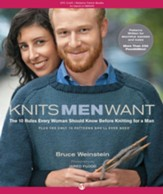 Knits Men Want: The 10 Rules Every Woman Should Know Before Knitting for a Man~Plus the Only 10 Patterns She'll Ever Need - eBook