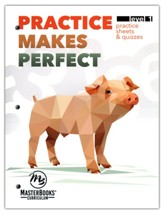 Practice Makes Perfect: Level 1 Practice Sheets & Quizzes
