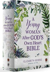 A Young Woman After God's Own Heart Bible, Hardcover