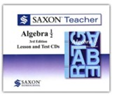 Saxon Teacher for Algebra 1/2, 3rd  Edition on CD-ROM