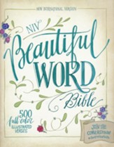NIV Beautiful Word Bible, hardcover