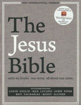 NIV, The Jesus Bible, Hardcover  - Slightly Imperfect