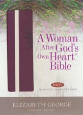 A Woman After God's Own Heart Bible: Berry Imitation Leather (NKJV)