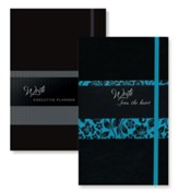 2019 Write Executive Planner & Write...from the Heart   Journal, Onyx, 2-Pack