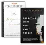 Forgiving What You Can't Forget/Forgiveness Journal, 2  Volumes