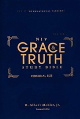 NIV Grace and Truth Personal-Size Study Bible, Comfort Print--hardcover