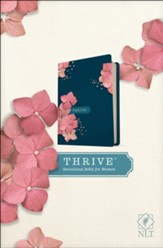 NLT THRIVE Devotional Bible for  Women, hardcover