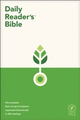 NLT Daily Reader's Bible, softcover