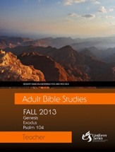 Adult Bible Studies Fall 2013 Teacher - eBook