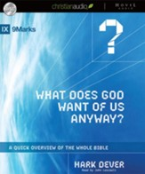 What Does God Want of Us Anyway Unabridged Audiobook on CD