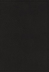 NIV Study Bible, Fully Revised Edition, Genuine Leather  Black