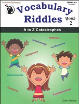 Vocabulary Riddles, Book 2: A to Z Catastrophes (Grades 4-8)