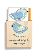 Find Your Song and Sing It Magnetic Note Holder