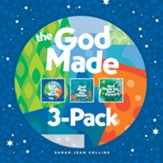 The God Made 3Pack: God Made the World, God Made the Ocean, God Made the Rain Forest, 3 Books
