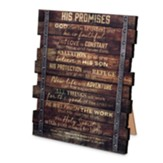 His Promises Plaque