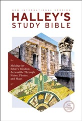 NIV Halley's Study Bible, Hardcover, Red Letter Edition, Comfort Print