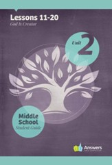 Answers Bible Curriculum Middle School Unit 2 Student Guide (2nd Edition)