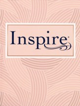 NLT Inspire Bible: The Bible for  Coloring & Creative Journaling--softcover, pink