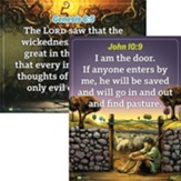 Answers Bible Curriculum Grades 2-5 Unit 3 Memory Verse Posters (2nd Edition)