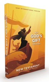 NIV God's Gift for Kids New Testament with Psalms and Proverbs, Comfort Print, Pocket-Sized, Paperback