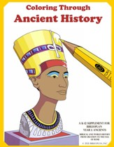 BiblioPlan Coloring Book for Ancient History (2nd Edition)