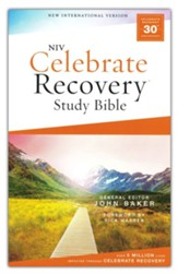 NIV Celebrate Recovery Study Bible,  Comfort Print, softcover