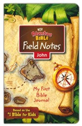 NIV Adventure Bible Field Notes: My First Bible Journal, John