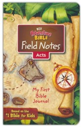 NIV Adventure Bible Field Notes: My First Bible Journal, Acts