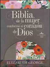 Biblia de la mujer conforme al corazón de Dios RVR 1960, Ed. Limitada, Flor (The Bible for Women After God's Own  Heart, Limited Flower Edition)